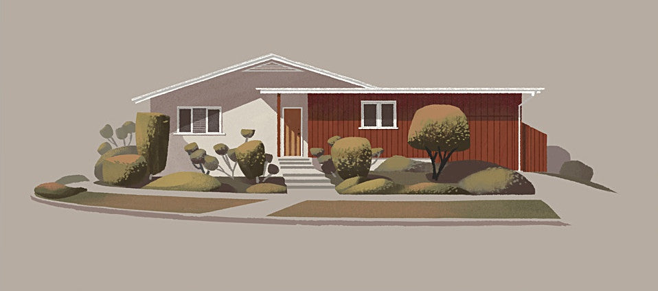 Mid-Century Ranch on Rowena