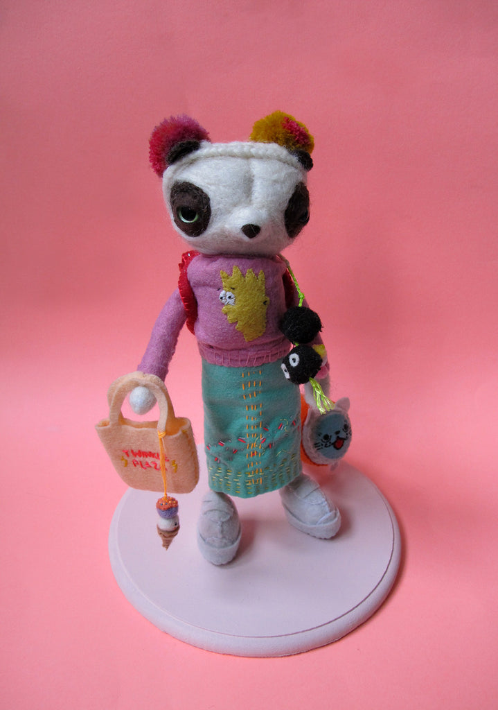 Panda from Cat Street - SCULPTURE