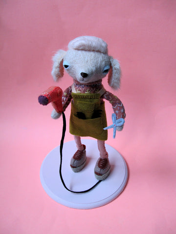 Poodle Grooming: By Poodles, For Poodles - SCULPTURE