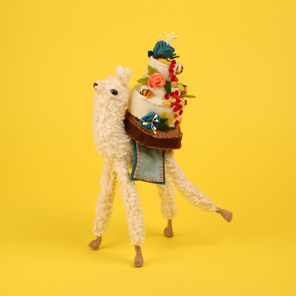 Francis Quinn's Bake Off Showstopper Alpaca