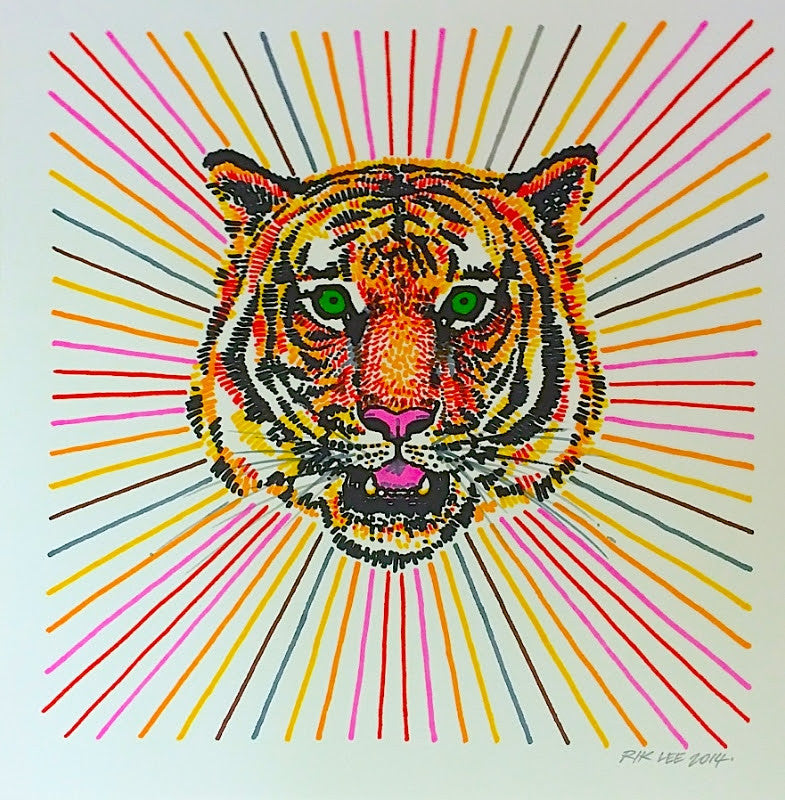 Sharpie Tiger
