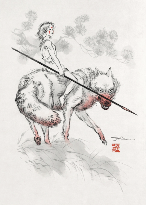 Wolf Girl (Princess Mononoke)