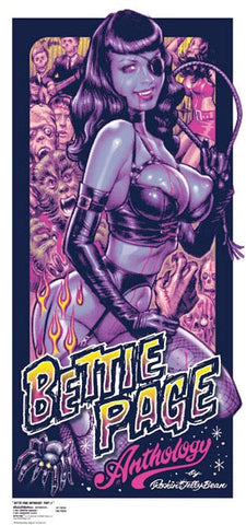 Bettie Page - Zombie Hunter Page - 2nd Colourway