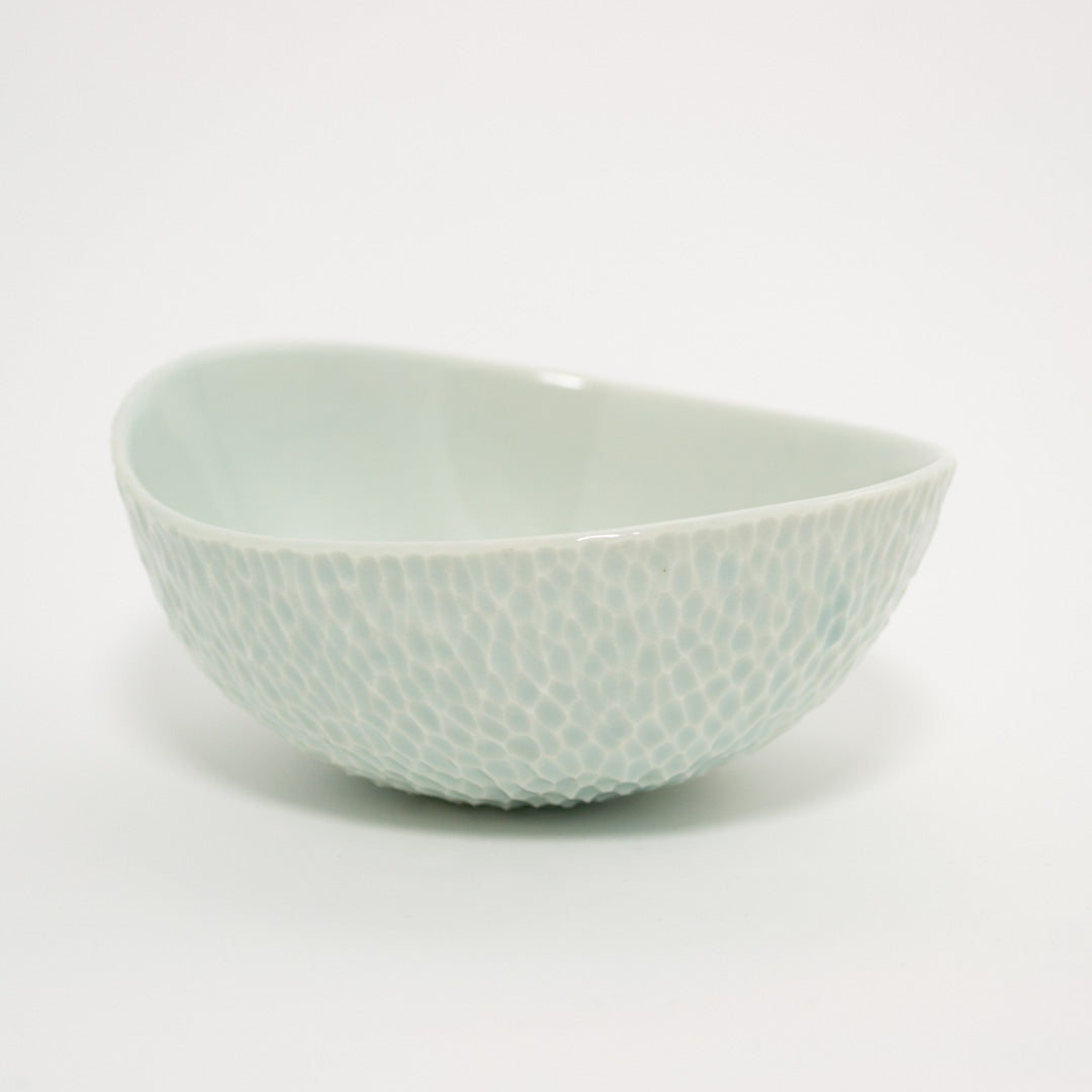 Blue Carved Dish