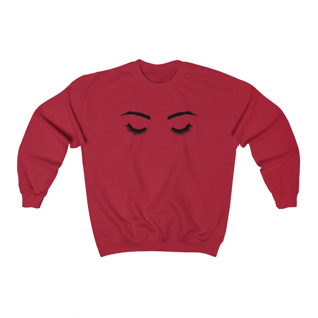 Eyelash Queen Crewneck Sweatshirt