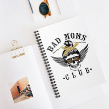 Load image into Gallery viewer, Spiral Bad Moms Notebook - Ruled Line