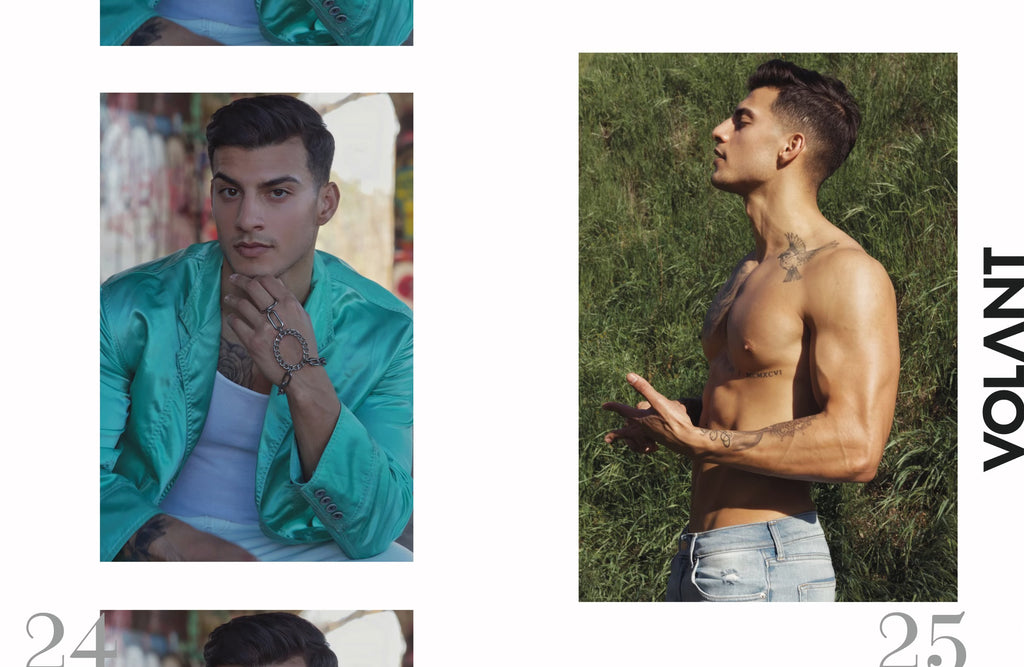 Cylus Sandoval styled by Jenny Dayco photography by Exavier Castro