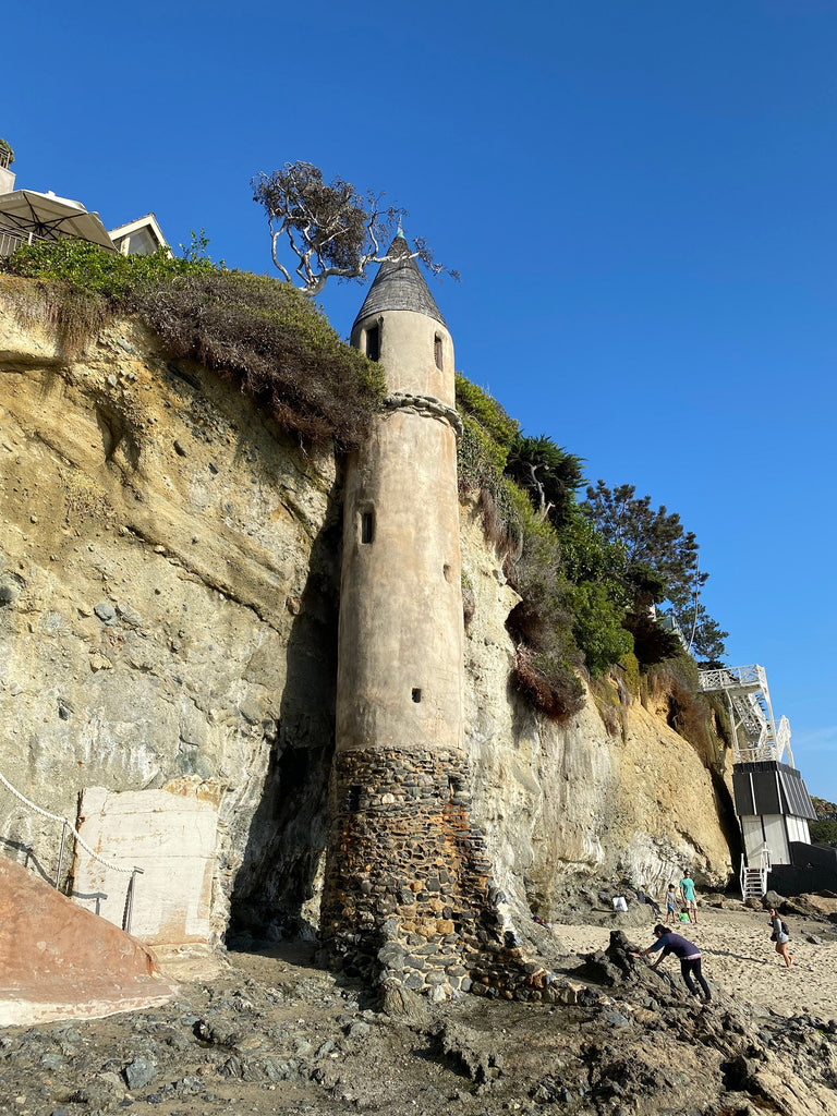 Jenny Dayco visits Pirate Tower at Victoria Beach