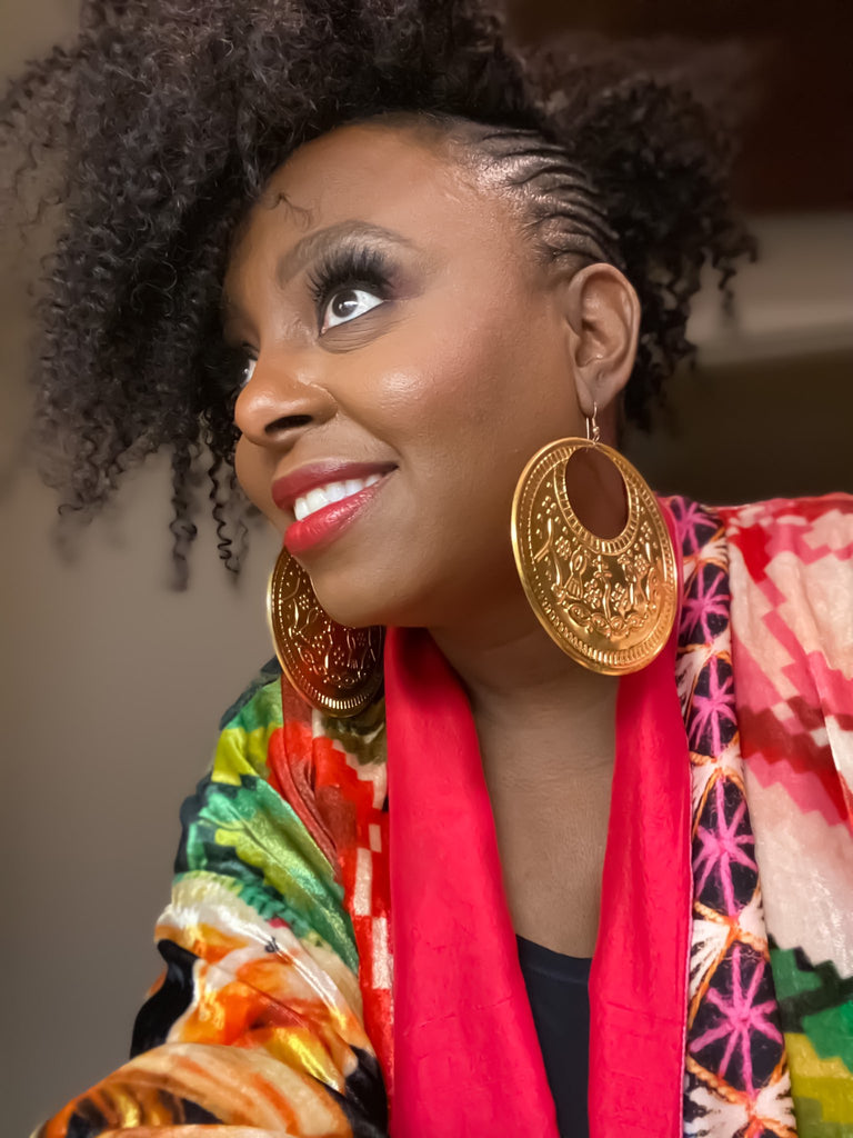 Ledisi Young on The Tamron Hall show styled by Jenny Dayco