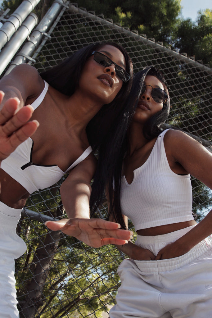 Aaliyah themed fashion story styled by Jenny Dayco