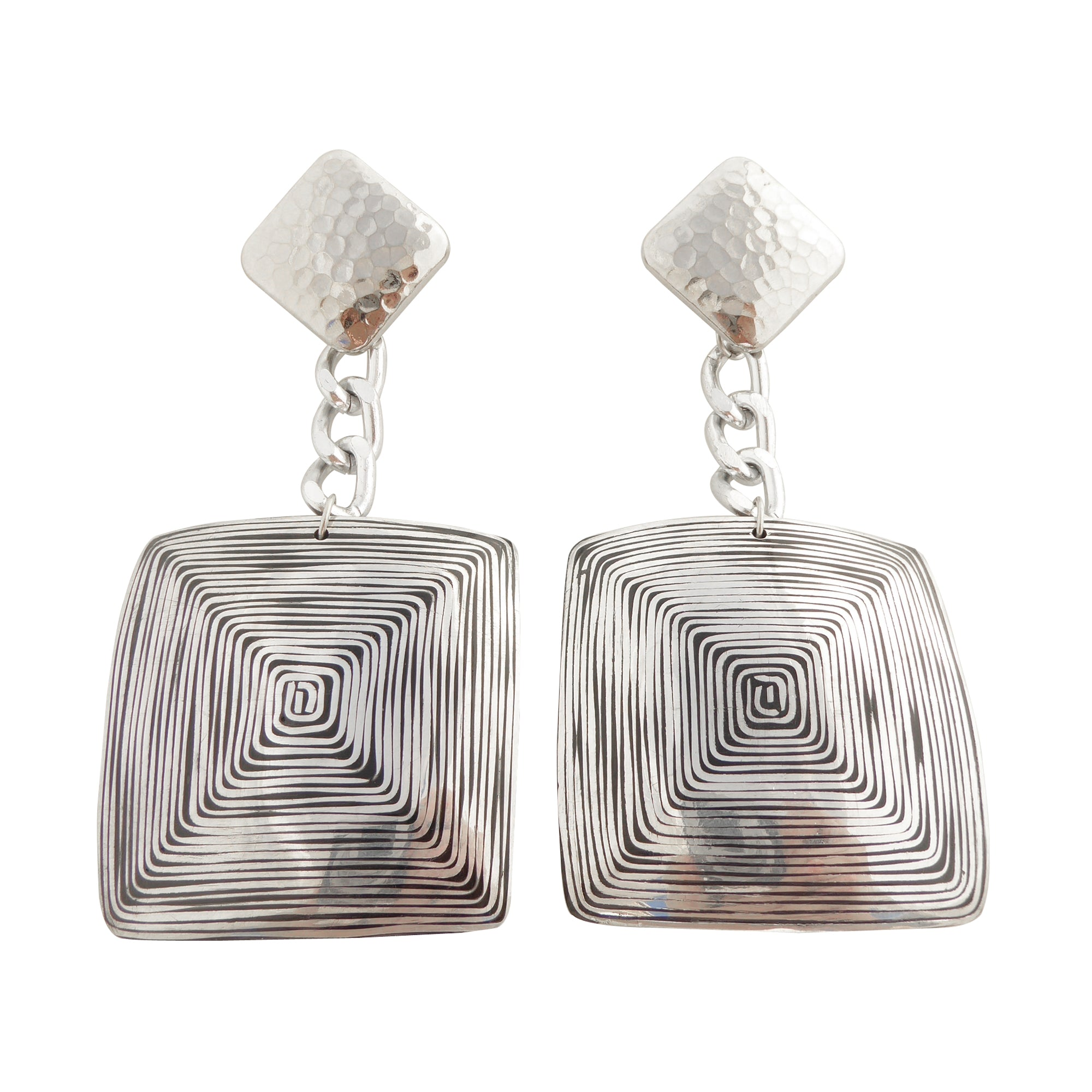 Fizza geometric earrings