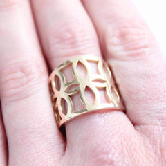 everyday essential band worn on finger