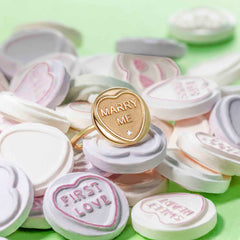 Use a proposal ring instead of an engagement ring when popping the question