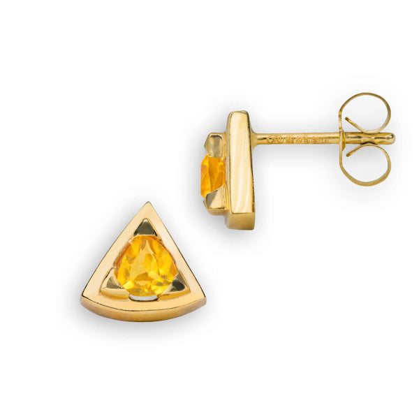 Origin 31 Brighten Up Someones Day with these citrine earrings from our gold jewellery collection