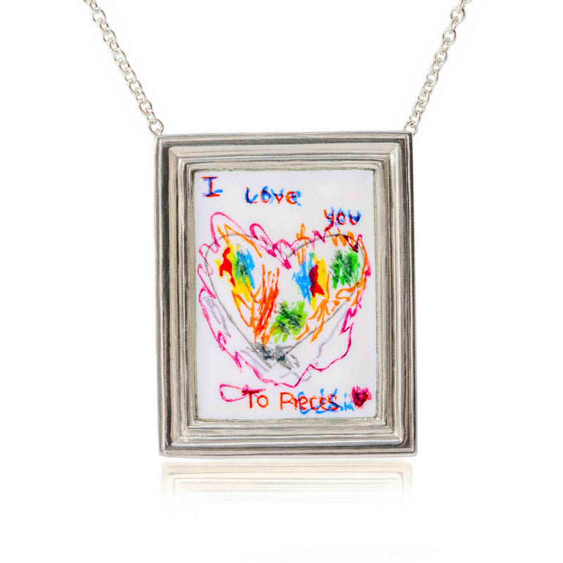 Ethically Handmade Personalised Silver Necklace In London For Ultimate Sentimentality