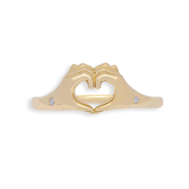 Origin 31 One love promise ring with diamonds to promise yourself some love