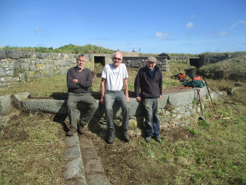 Andy, Trevor and Nick from the Alderney Society