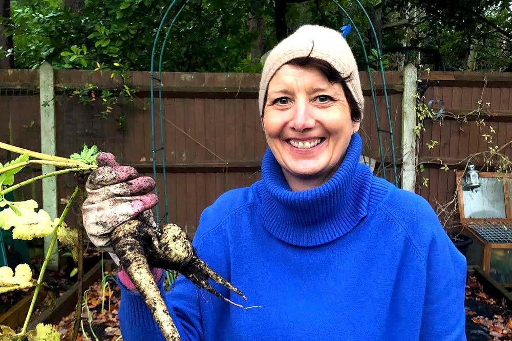 Claire from Sowing at the Stoop