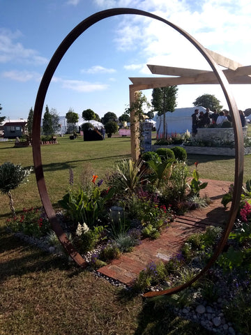 JH Landscaping were there with their beautiful show garden, it was our favourite. Our Rhino Greenhouses were right next-door.