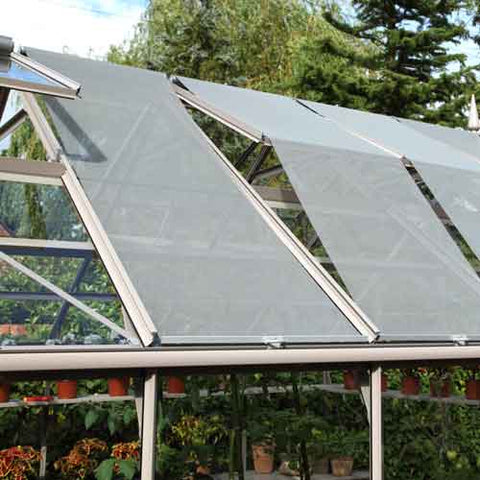 Rhino Roof Blinds for greenhouse