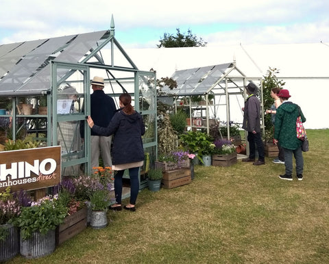 Lots of excited showgoers were interested in our Rhino Greenhouses at the Royal Norfolk Show 2019.