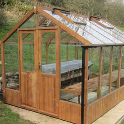 Swallow Wooden Greenhouse