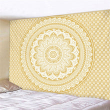 Load image into Gallery viewer, Mandala Polyester 180*230cm Square Tapestry Wall Hanging Carpet Throw | Home Bedroom Decoration