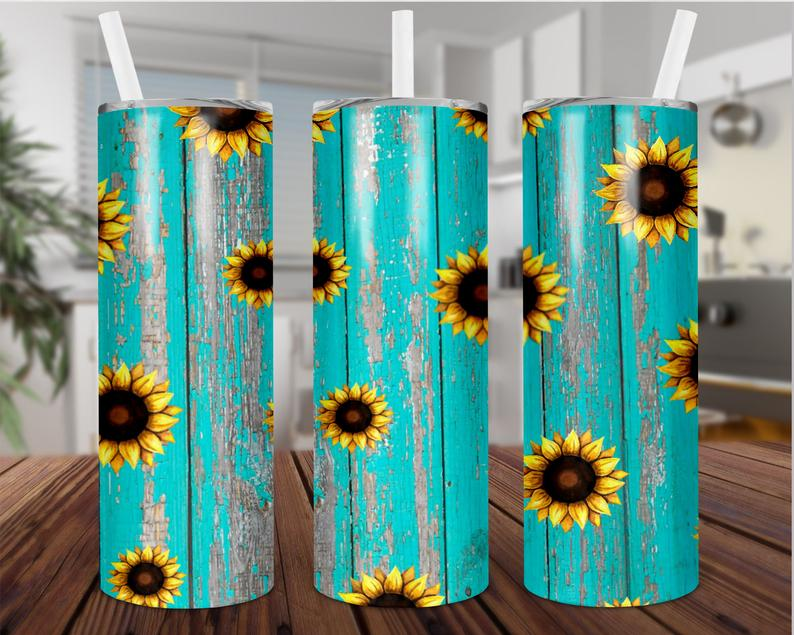 Sunflower Tumbler 20oz