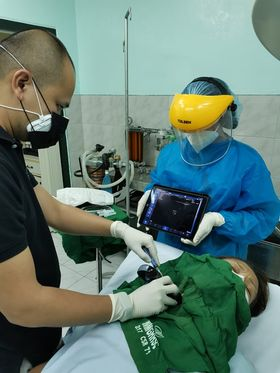 EagleView ultrasound is ultilized in many global medical practices.