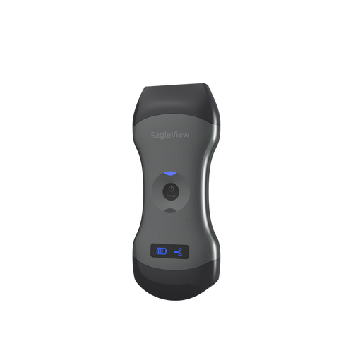 EagleVIew dual-head wireless handheld ultrasound.