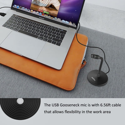 Mini USB Microphone for Computer Laptop