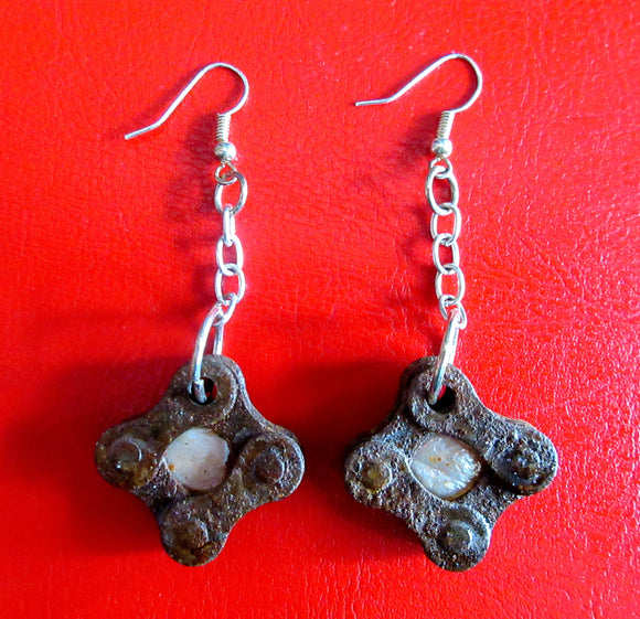 Bike Chain Earrings - Katy Stenberg-Baine