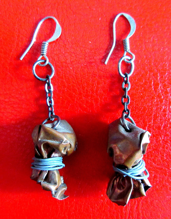 Copper Bundle Earrings - Katy Stenberg-Baine