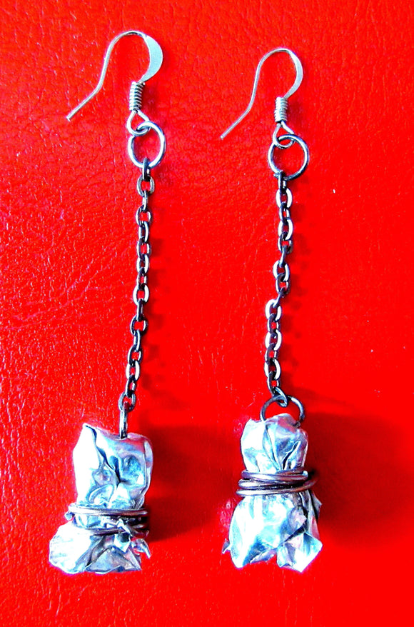 Aluminum Bundle Earrings - Katy Stenberg-Baine