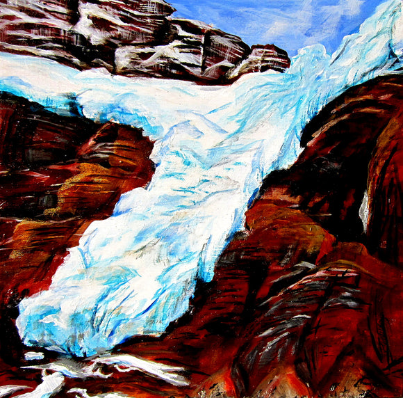 Angel Glacier - Jennifer Stenberg