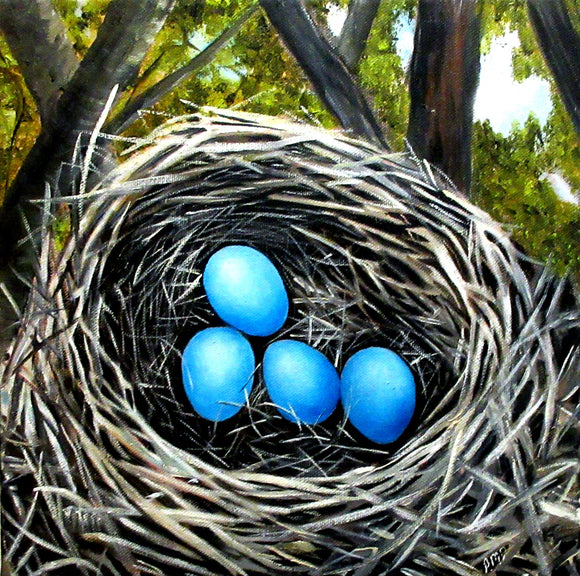 Bird's Nest Eggs - Anna-Maria Dickinson