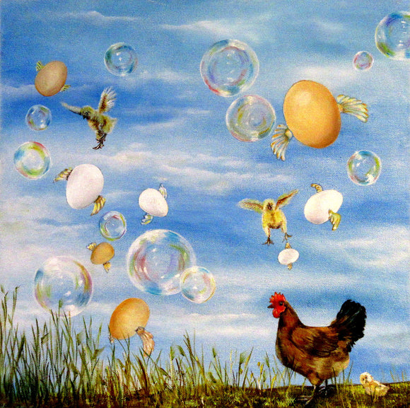 Bubbles and Chickens - Anna-Maria Dickinson