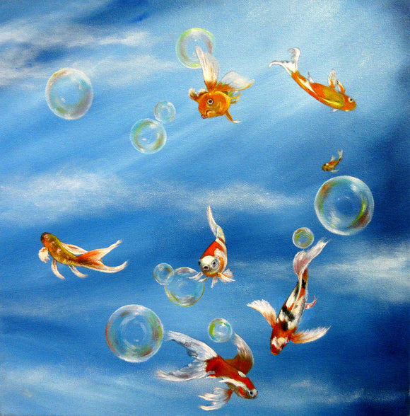 Bubbles and Goldfish - Anna-Maria Dickinson