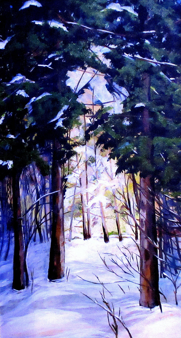 Light Through the Trees - Jennifer Stenberg