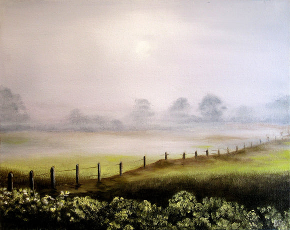 Misty Morning - Anna-Maria Dickinson