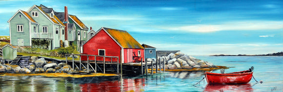 Peggy's Cove, NS - Anna-Maria Dickinson