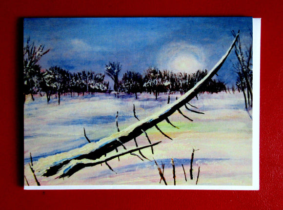 Frozen Pond - 5.25 x 7.25 - Jennifer Stenberg