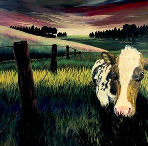 End of Day - Cow - Holger Majorahn