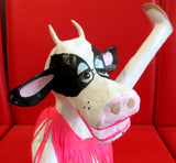 Wine Drinking Cow 7 - Karen Murray