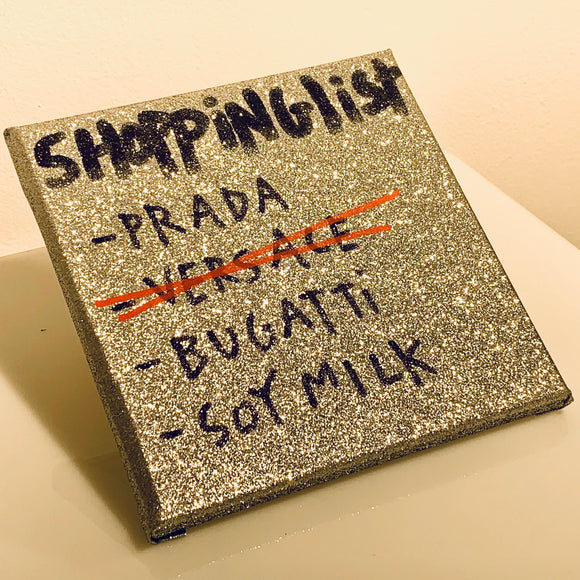 Shopping List Latte di soia