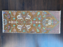 Load image into Gallery viewer, Vintage Turkish Rug, 19 in x 35.5 in