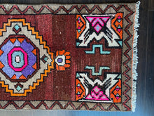 Load image into Gallery viewer, Vintage Turkish Rug, 19.75 in x 41 in