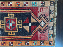 Load image into Gallery viewer, Vintage Turkish Rug, 20 in x 39.5 in