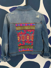 Load image into Gallery viewer, Size LARGE -Patchwork Denim jacket