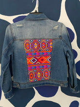 Load image into Gallery viewer, Size SMALL. Patchwork embellished Jacket.